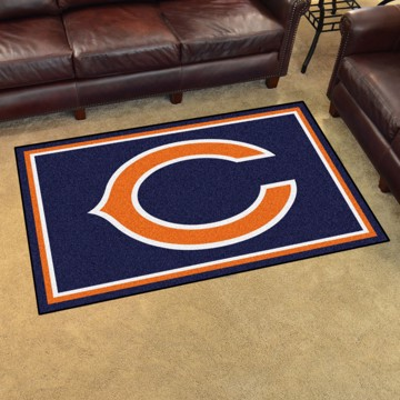 Picture of NFL - Chicago Bears 4'x6' Plush Rug