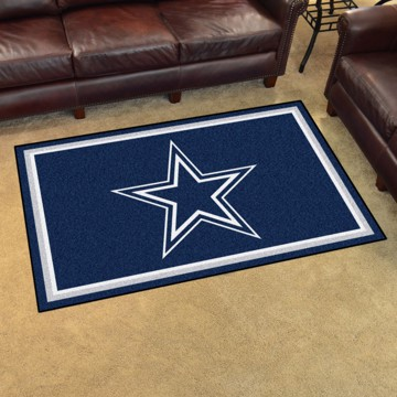 Picture of NFL - Dallas Cowboys 4'x6' Plush Rug