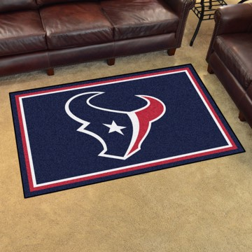 Picture of NFL - Houston Texans 4'x6' Plush Rug