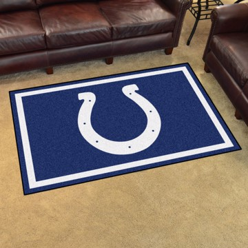 Picture of NFL - Indianapolis Colts 4'x6' Plush Rug