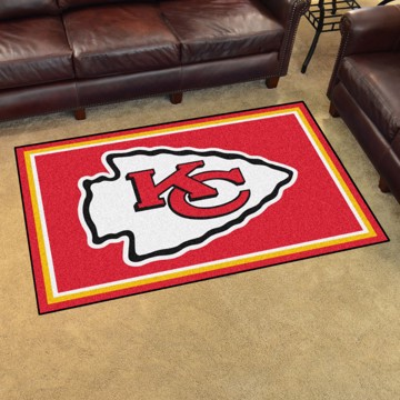 Picture of NFL - Kansas City Chiefs 4'x6' Plush Rug