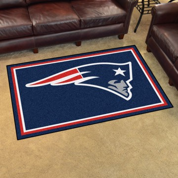Picture of NFL - New England Patriots 4'x6' Plush Rug