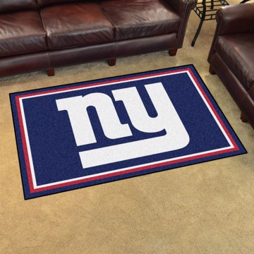 Picture of NFL - New York Giants 4'x6' Plush Rug