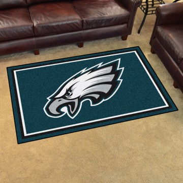 Picture of NFL - Philadelphia Eagles 4'x6' Plush Rug