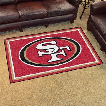 Picture of NFL - San Francisco 49ers 4'x6' Plush Rug