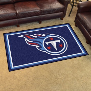 Picture of NFL - Tennessee Titans 4'x6' Plush Rug