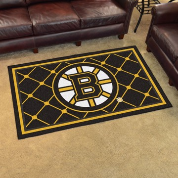 Picture of NHL - Boston Bruins 4'x6' Plush Rug