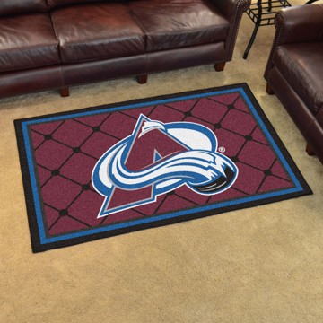 Picture of NHL - Colorado Avalanche 4'x6' Plush Rug