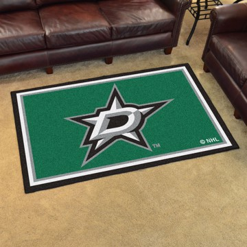 Picture of NHL - Dallas Stars 4'x6' Plush Rug
