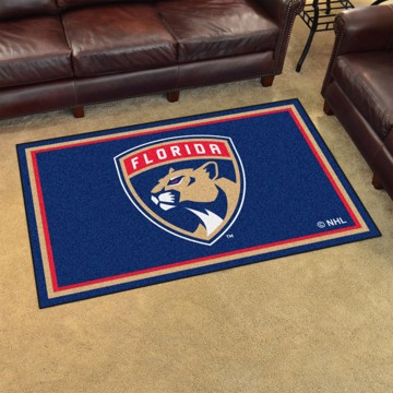 Picture of NHL - Florida Panthers 4'x6' Plush Rug