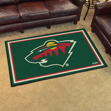 Picture of NHL - Minnesota Wild 4'x6' Plush Rug