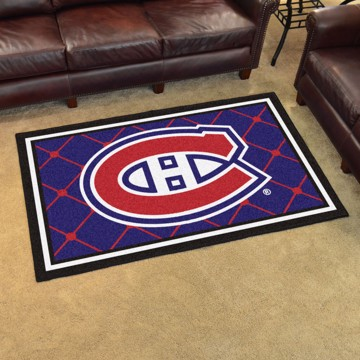 Picture of NHL - Montreal Canadiens 4'x6' Plush Rug