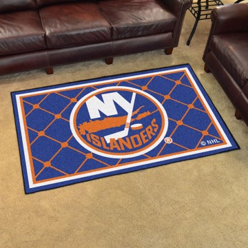Picture of NHL - New York Islanders 4'x6' Plush Rug