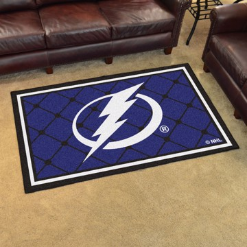 Picture of NHL - Tampa Bay Lightning 4'x6' Plush Rug