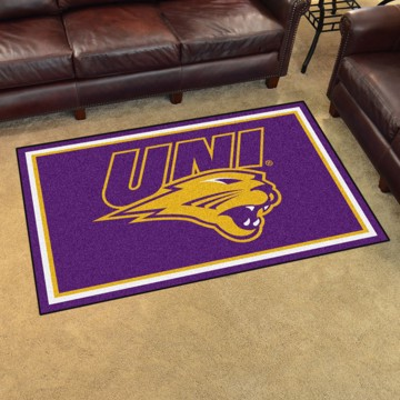 Picture of Northern Iowa 4'x6' Plush Rug