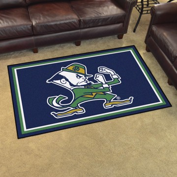 Picture of Notre Dame 4'x6' Plush Rug