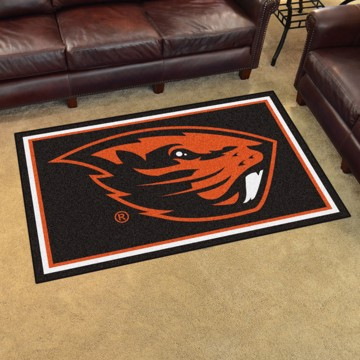 Picture of Oregon State 4'x6' Plush Rug