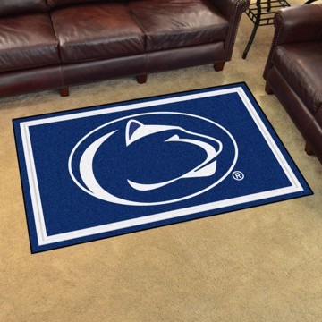 Picture of Penn State 4'x6' Plush Rug