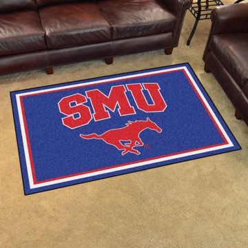 Picture of SMU 4'x6' Plush Rug