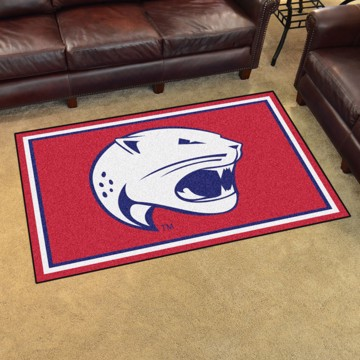 Picture of South Alabama 4'x6' Plush Rug
