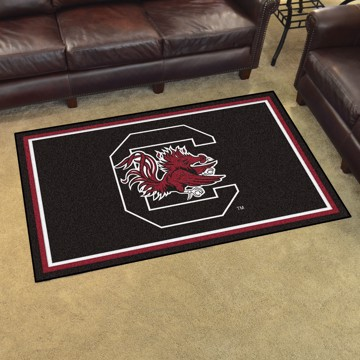 Picture of South Carolina 4'x6' Plush Rug