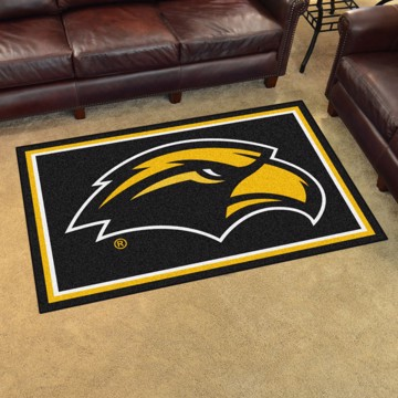 Picture of Southern Miss 4'x6' Plush Rug