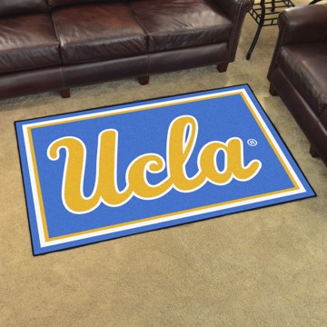 Picture of UCLA 4'x6' Plush Rug
