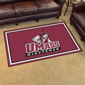 Picture of UMass 4'x6' Plush Rug