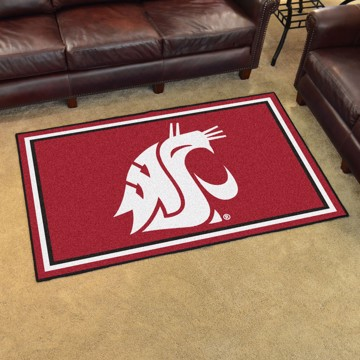 Picture of Washington State 4'x6' Plush Rug