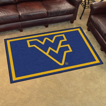 Picture of West Virginia 4'x6' Plush Rug