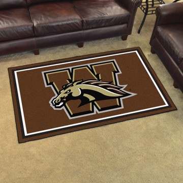 Picture of Western Michigan 4'x6' Plush Rug