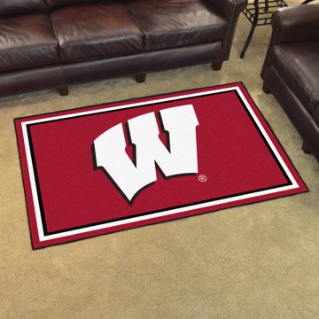 Picture of Wisconsin 4'x6' Plush Rug