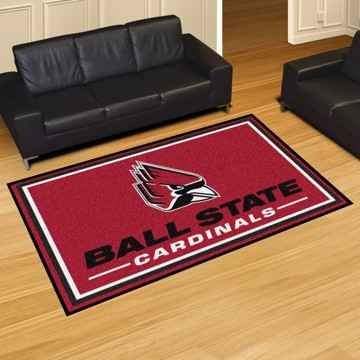 Picture of Ball State 5'x8' Plush Rug