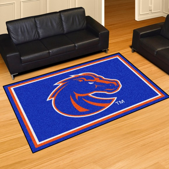Picture of Boise State 5'x8' Plush Rug