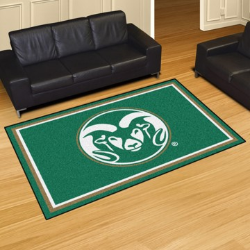 Picture of Colorado State 5'x8' Plush Rug