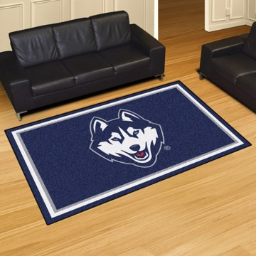 Picture of Connecticut (UCONN) 5'x8' Plush Rug
