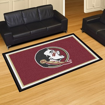 Picture of Florida State 5'x8' Plush Rug