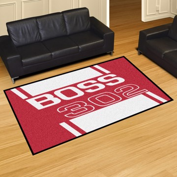 Picture of Ford - Boss 302 5'x8' Plush Rug