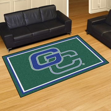 Picture of Georgia College 5'x8' Plush Rug