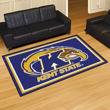 Picture of Kent State 5'x8' Plush Rug