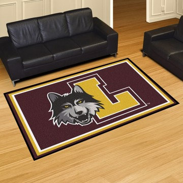 Picture of Loyola Chicago 5'x8' Plush Rug