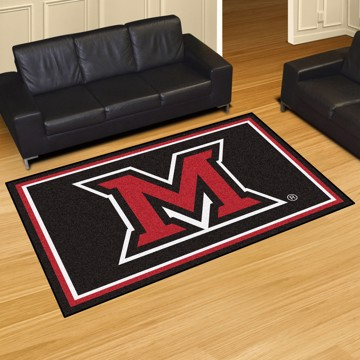 Picture of Miami (OH) 5'x8' Plush Rug