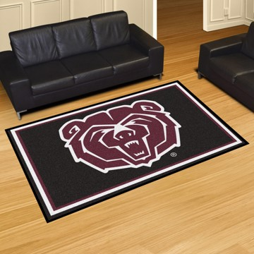 Picture of Missouri State 5'x8' Plush Rug