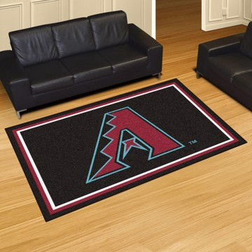 Picture of MLB - Arizona Diamondbacks 5'x8' Plush Rug