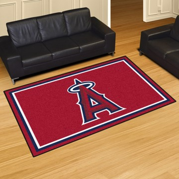 Picture of MLB - Los Angeles Angels 5'x8' Plush Rug