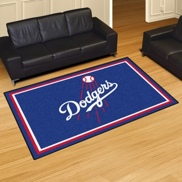 Picture of MLB - Los Angeles Dodgers 5'x8' Plush Rug