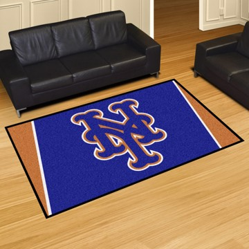Picture of MLB - New York Mets 5'x8' Plush Rug