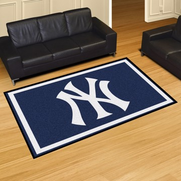Picture of MLB - New York Yankees 5'x8' Plush Rug
