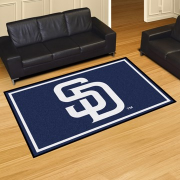 Picture of MLB - San Diego Padres 5'x8' Plush Rug
