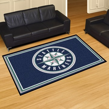 Picture of MLB - Seattle Mariners 5'x8' Plush Rug